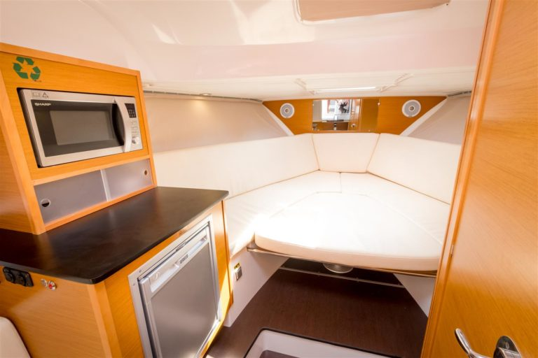 "The boat - ""Jeanneau"" Cap Camarat 8.5 WA"
